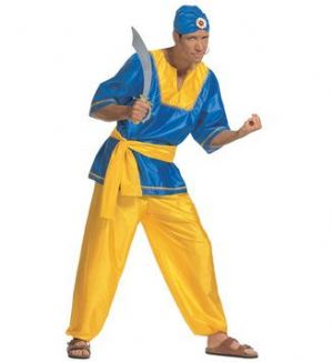 Plus Size Sultan Man Costume (0234)